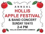 2015 apple festival poster