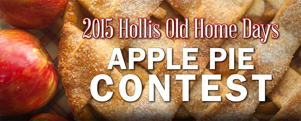 2015 apple pie contest banner