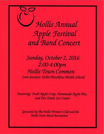 Apple Festival 2016 poster