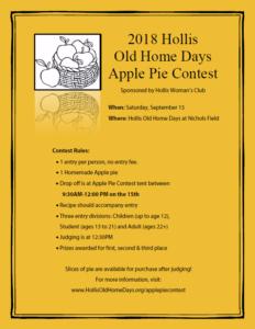 Apple Pie Contest Poster