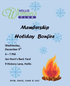 Holiday Bonfire 2020 Poster