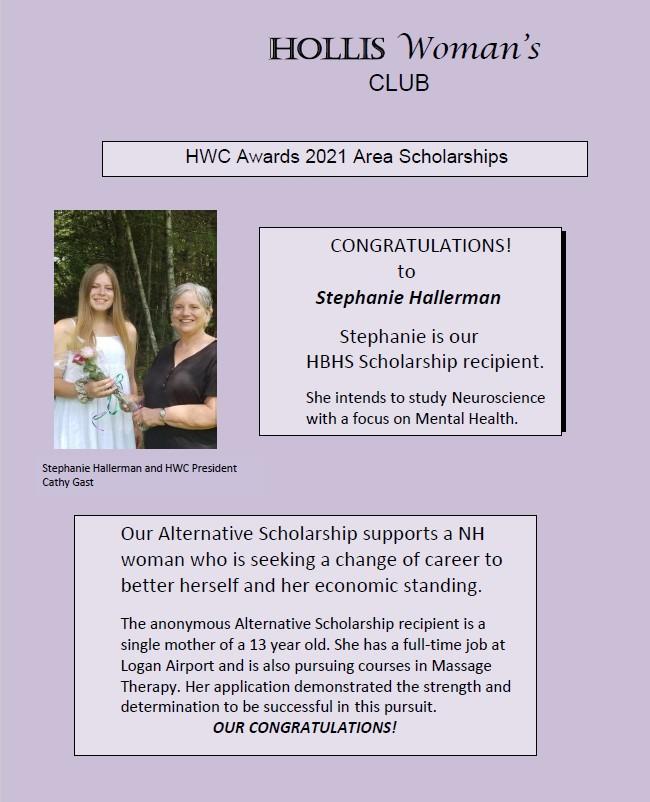 HWC 2021 Scholarships